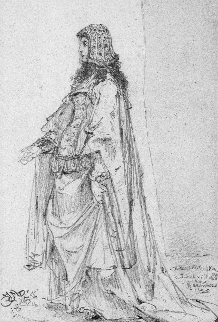 Adelajda Heska na portrecie Jana Matejki, a także żony Kazimierza Wielkiego i informacje na ich temat