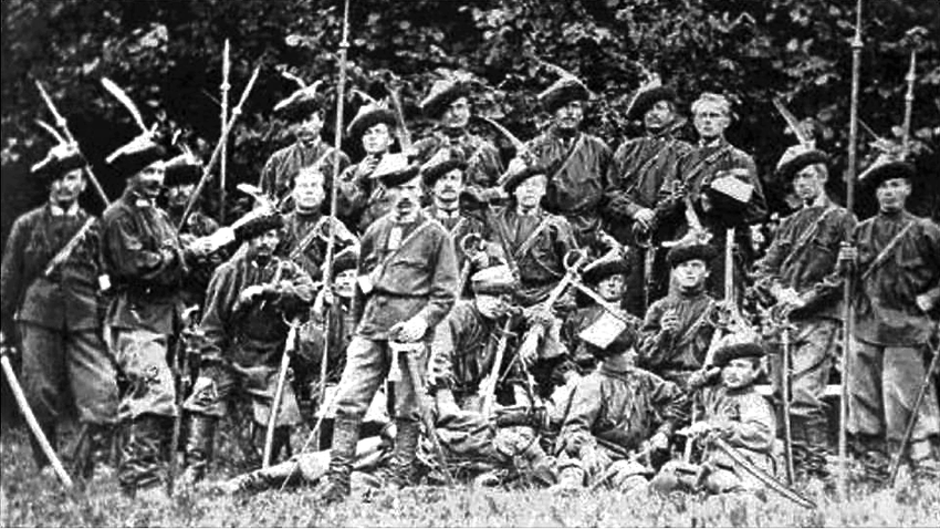 Dowódcy powstania styczniowego to nie tylko dyktatorzy powstania, lecz także dowódcy mniejszych batalionów, jak Ingacy Drewnowski, dowódca widocznego na zdjęciu pułku