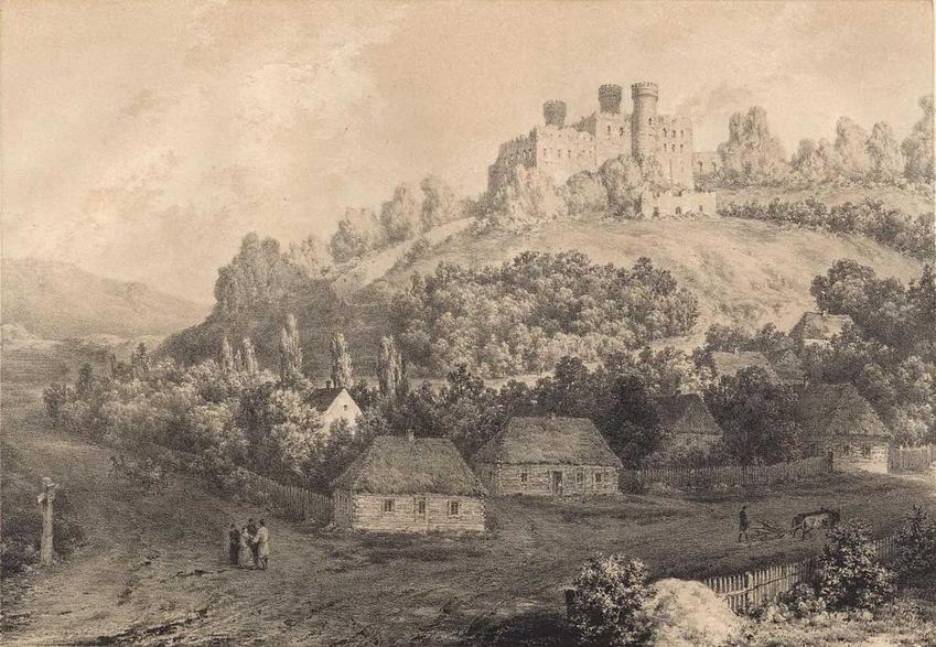 Zamek Ogrodzieniec, czyli stara polska budowla, która znana jest jako tło do wydarzeń w Wiedźminie, a także jej historia i legendy