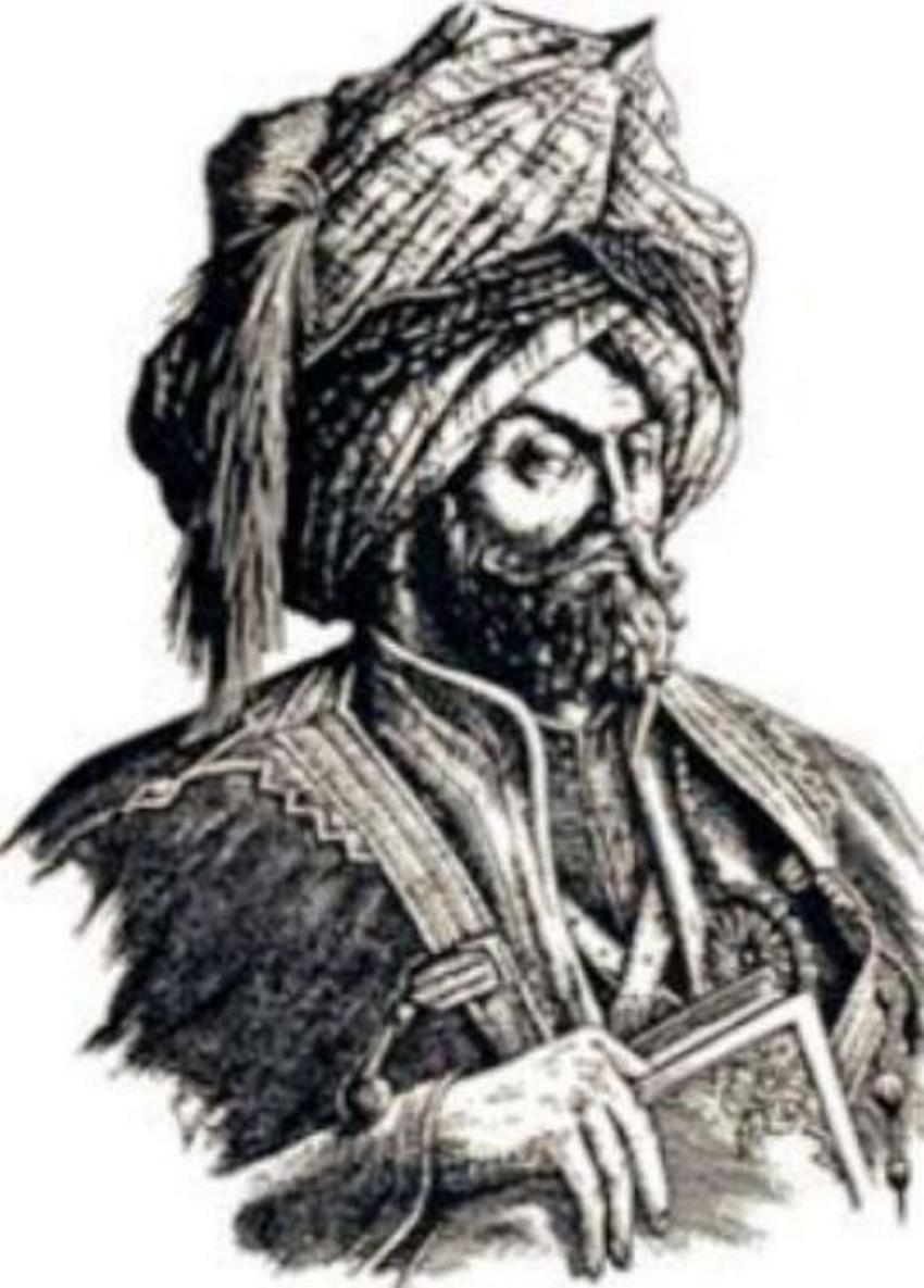 Sulejman Wspaniały starł się z Węgrami pod Mohaczem, ale przeszkodziła mu zdrada Seref Hana - na rycinie Badie Babajan