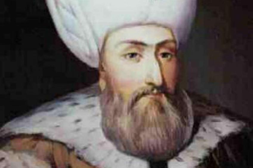 Sulejman Wspaniały przedstawiany jest jako potężny i silny władca - autorstwo obrazu przypisuje się Tycjanowi