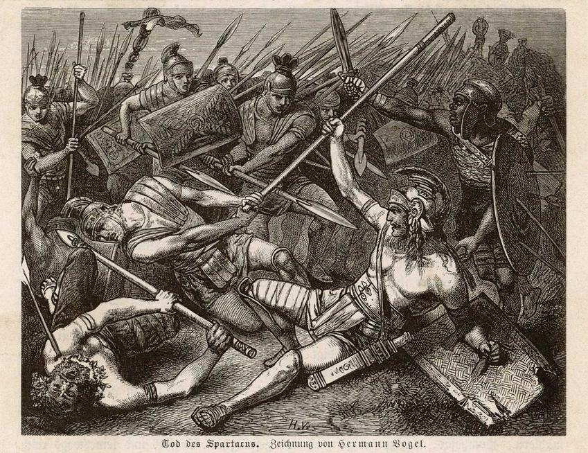 Powstanie Spartakusa, czyli najgłośniejsze powstanie niewolników w Rzymie, a także przyczyny i skutki oraz przebieg wydarzeń