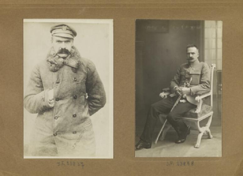 Kempeitai, czyli japońska żandarmeria wojskowa, miała powiązania z Piłsudskim w dwudziestoleciu miedzywojennym - Marszałek Józef Piłsudski na zdjęciach w albumie