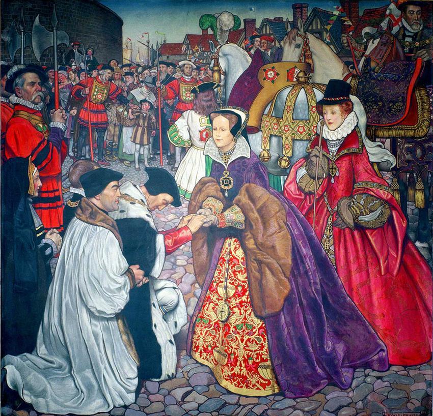 Maria I tudor, córka Henryka XVIII i jej historia - kontrowersje wokół Krwawej Mary, koronacja, droga do tronu