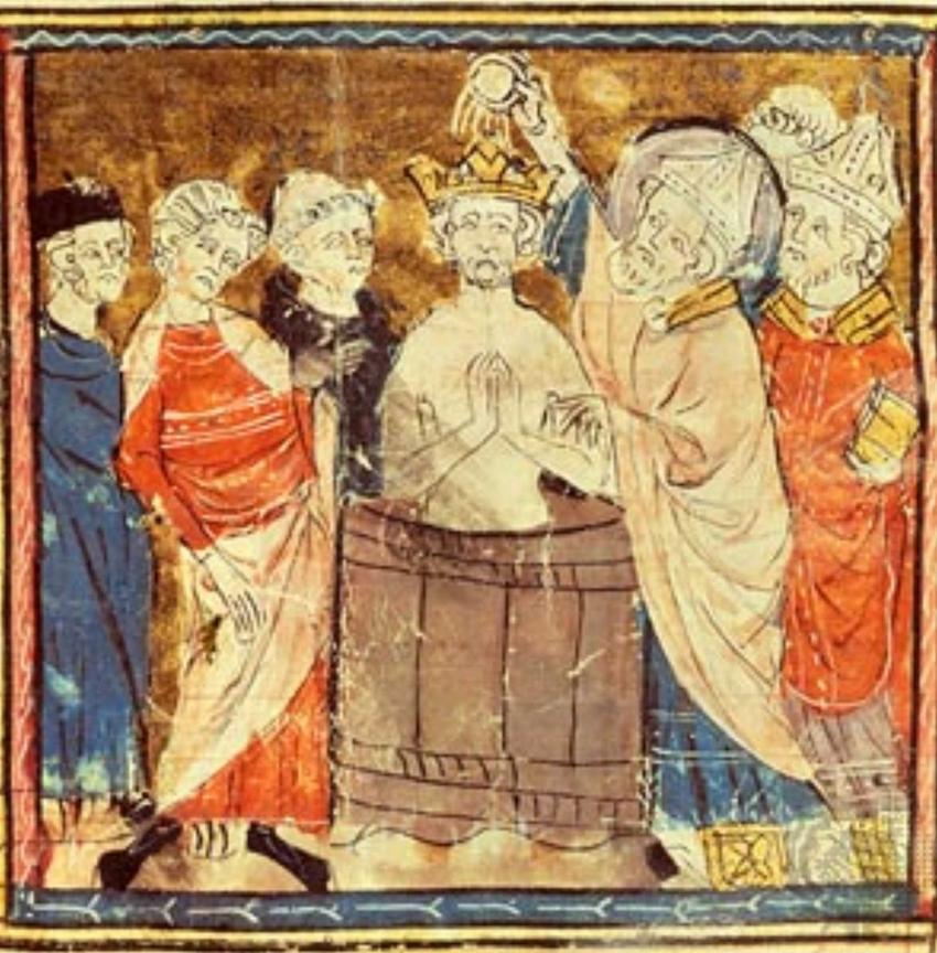Chlodwig I, król Franków oraz jego historia, chrzest, podboje, zjednoczenie, koronacja, pochodzenie