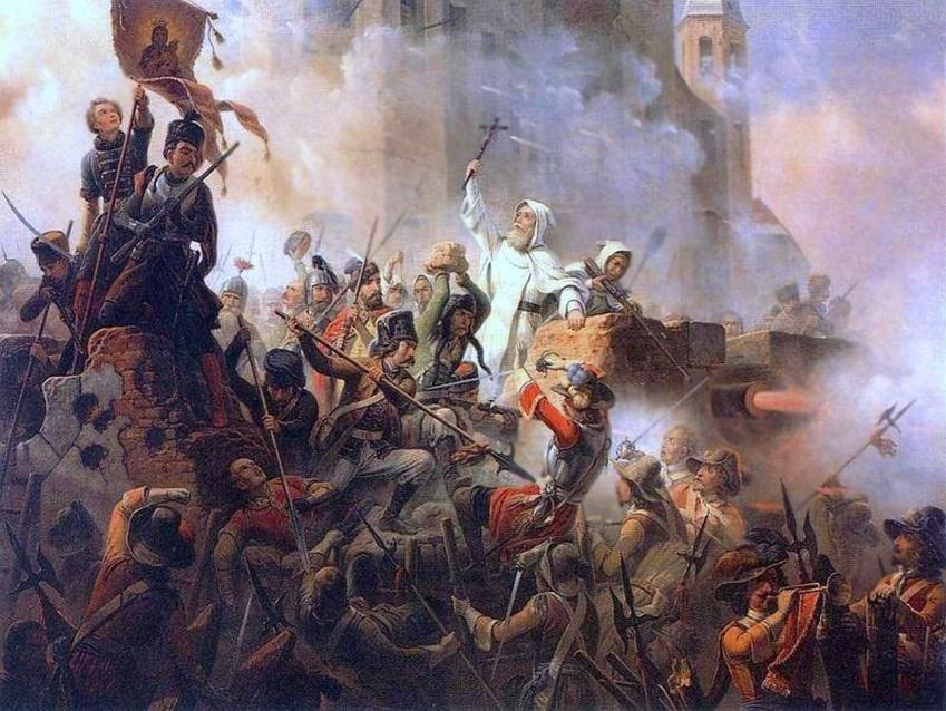 Obrona Jasnej Góry w czasie Potopu Szwedzkiego, a także dowódcy obrony, siły, przyczyny i przebieg bitwy