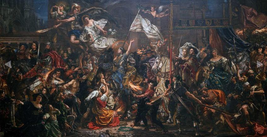 Dziewica Orleańska, czyli Joanna d'Arc i jej historia, życiorys, bitwy oraz legenda