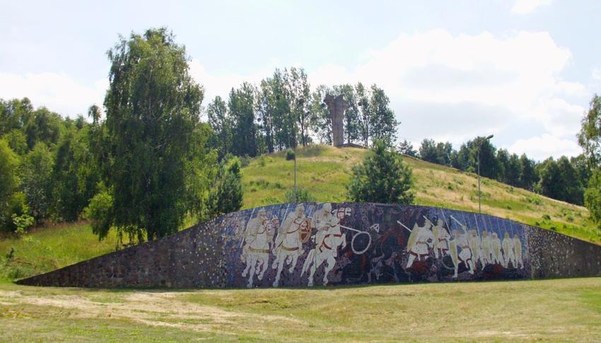 Bitwa pod Cedynią doczekała się stworzenia muralu, który upamiętna ważne wydarzenie i oddaje czesć wojsku
