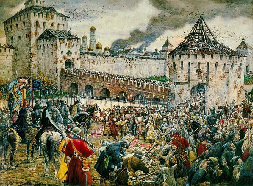 Atak oraz zdobycie Moskwy przez wojska polskie, a także daty, dowódcy bitwy, skutki i przyczyny