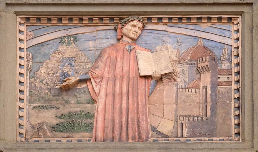 Dante Alighieri i jego życiorys, czyli osiągnięcia, wykształcenia, stworzenie Boskiej komedii