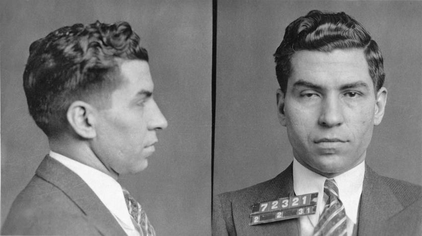 Lucky Luciano, znany mafiozo i jego działania mafijne, narodowość, życie prywatne, schwytanie i proces