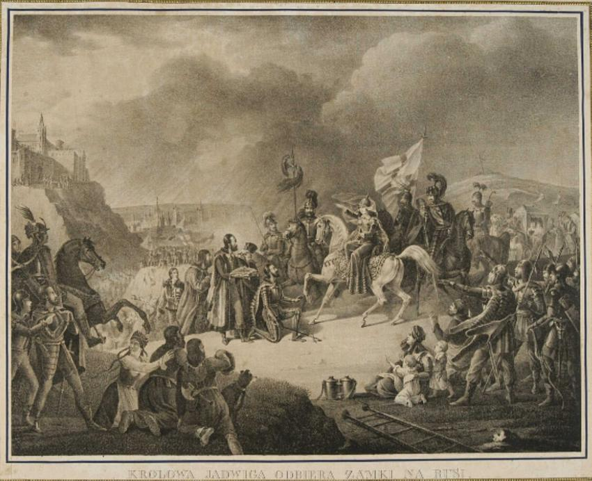 Królowa Jadwiga Andegaweńska na tronie Polski, a także jej życie prywatne, życiorys i śmierć