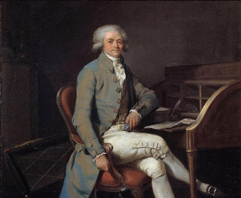 Rewolucja francuska była dowodzona przez kilka osób, z których najbardziej znanym jest chyba Robespierre - na obrazie Louisa Boillego