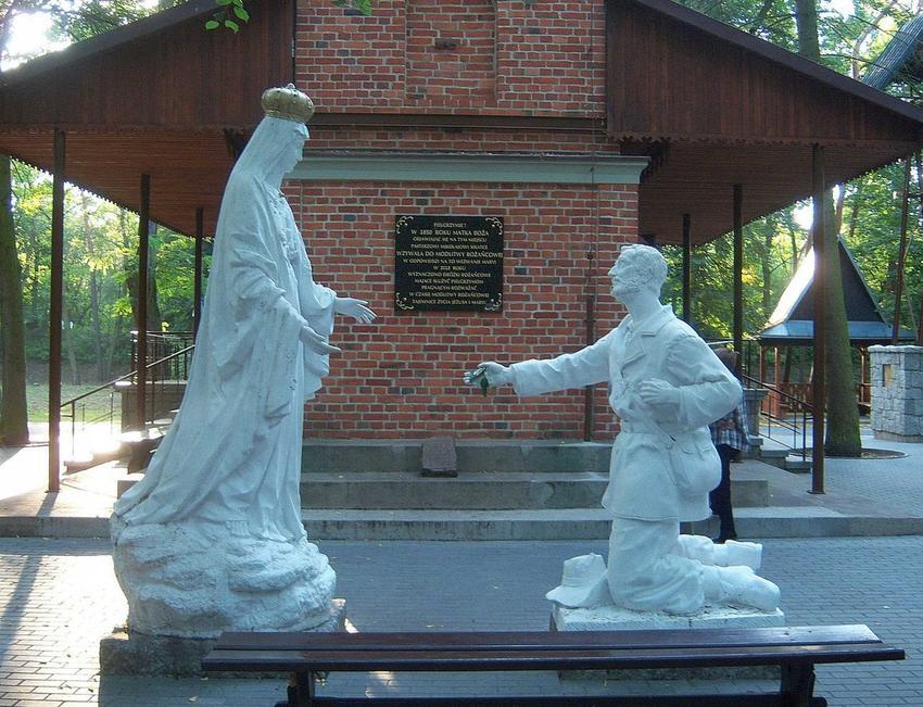 Historia sanktuarium w Licheniu, czyli przemiana krok po kroku, historia zabytków i objawień