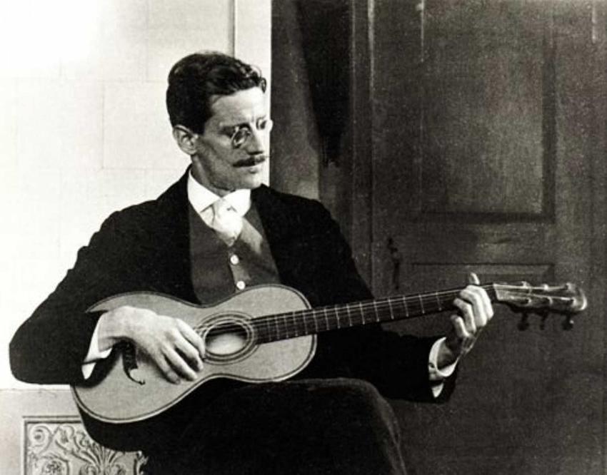 James Joyce i jego twórczość, a także życiorys poczytnego autora, największe dzieła i daty