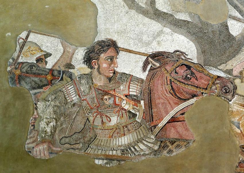 10 najważniejszych osób w historii świata - Aleksander Macedoński na koniu Bucefale