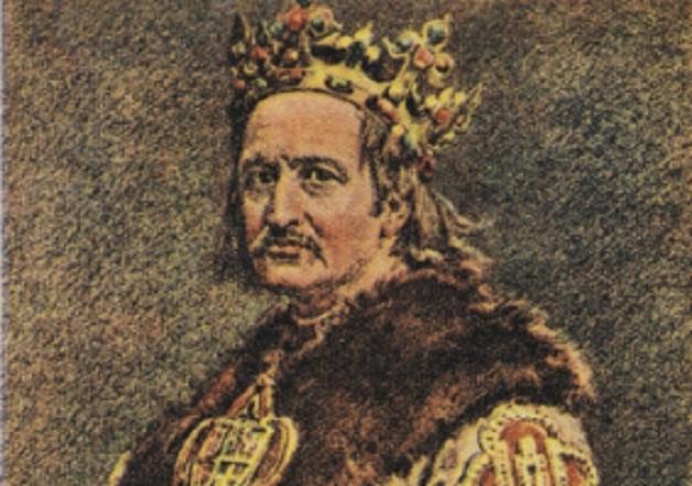 Władysław Jagięłło (na obrazie Jana Matejki) wywalczył sukcesję dla swojego syna Władysława Warneńczyka na zjeździe w Sieradzu