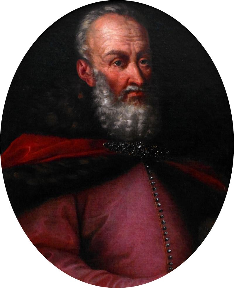 Stanisław Rewera Potocki brał udział w bitwie pod Kutyszczami na anonimowm obrazie, a także inne bitwy, w których wygrała strona słabsza