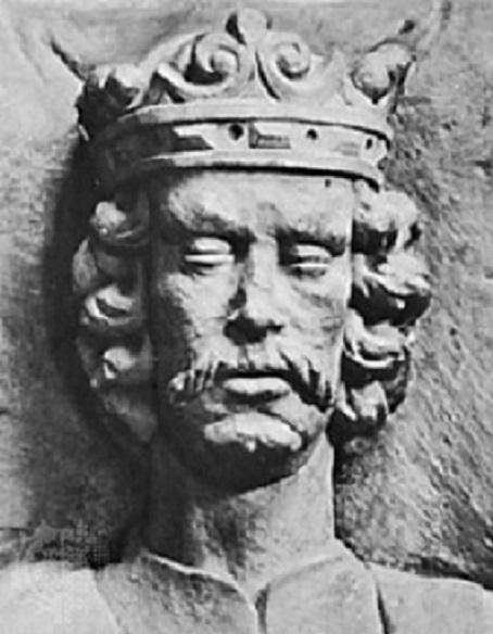 Władysław Łokietek na płycie nagrobnej z katedry na Wawelu, a także jak Łokietek sprawdzał polskość mieszczan