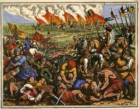 W starciu z używającymi broni chemicznej najeźdźcami z Mongolii Polacy nie mieli szans