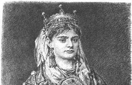 Żona Mieszka II podobno była odpowiedzialna za wywiezienie z Polski korony królewskiej