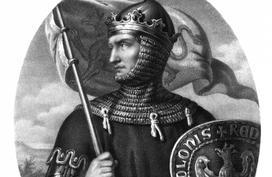 Przemysł II - po wielu burzliwych wydarzeniach, zostaje w końcu królem Polski