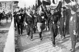 Marsz czarnych koszul na Rzym - jak Włochy zmieniły się w państwo faszystowskie