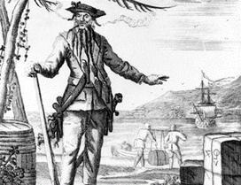 Najgroźniejszy pirat w historii Karaibów – historia Czarnobrodego