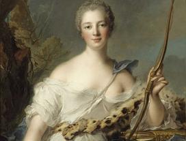 Madame de Pompadour (Jeanne Antoinette Poisson) - królewska faworyta Ludwika XV