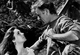 Elizabeth Taylor i Richard Burton jako najbardziej namiętna para aktorska